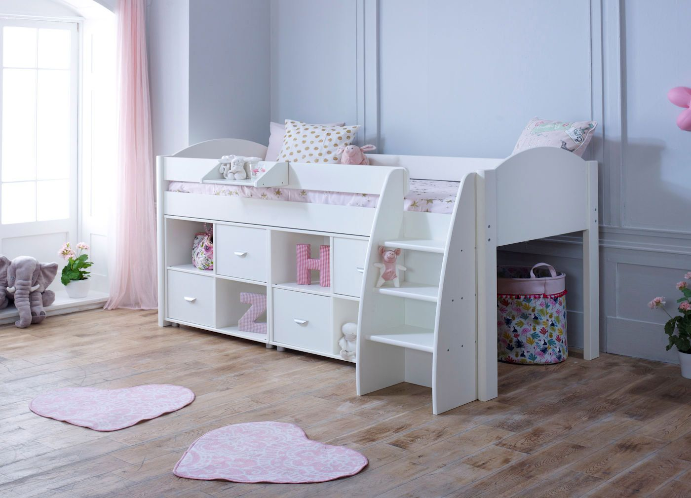 Picture of: Eli F 4 Cabin Bed Kids Beds Online Ltd